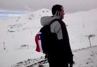 Um dia no Valle Nevado