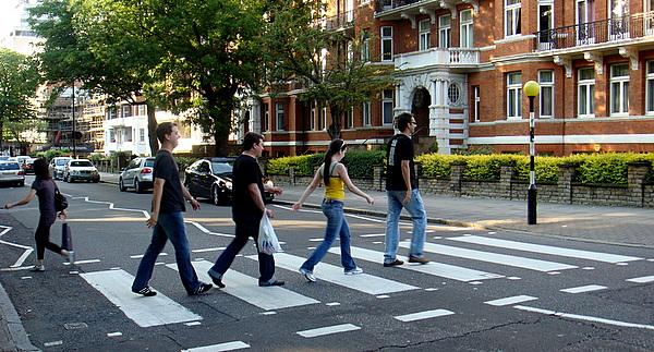 Foto Jacu - Faixa de Pedestres da Abbey Road