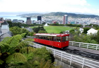Wellington: Andando de Cable Car