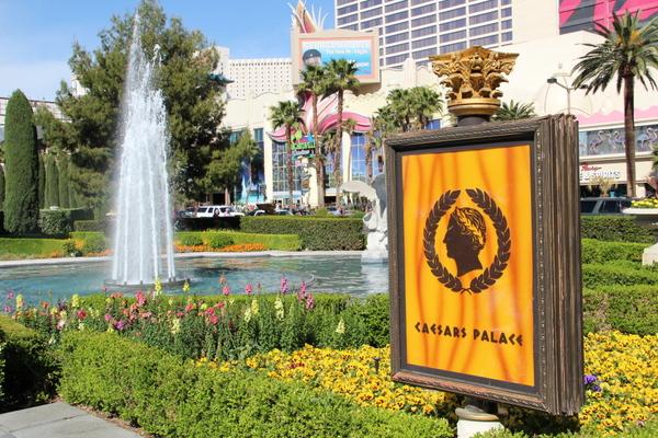 Jardins do Caesars Palace em Las Vegas