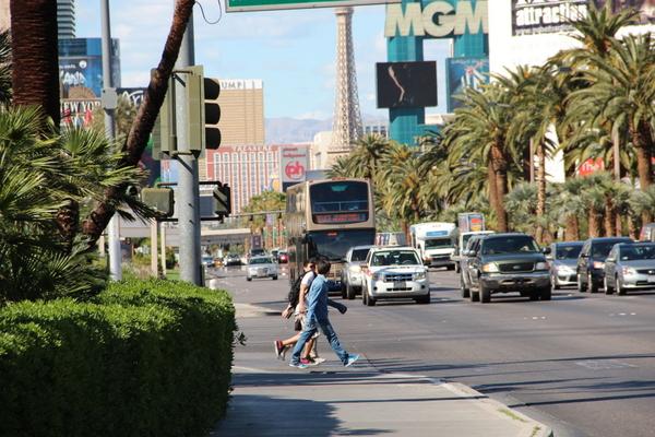 Locomoção em Las Vegas