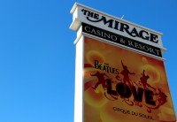 Hospedando no The Mirage em Las Vegas