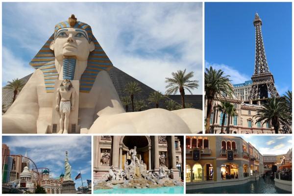 Tour pelo Mundo em Las Vegas