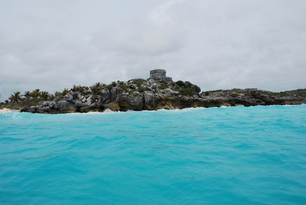 Tulum   O mar azul