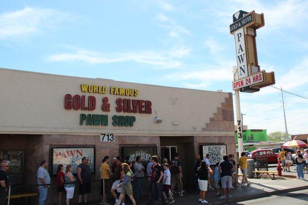 Las Vegas | Loja de Penhores | A frente da loja
