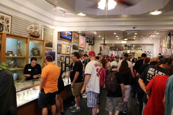 Las Vegas | Loja de Penhores | O interior da loja