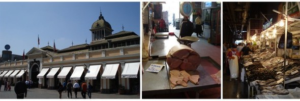 Santiago   O Mercado Central