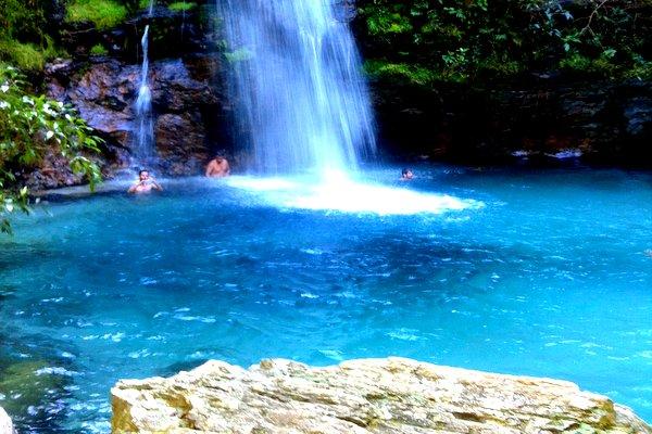 A Cachoeira de Santa Bárbara
