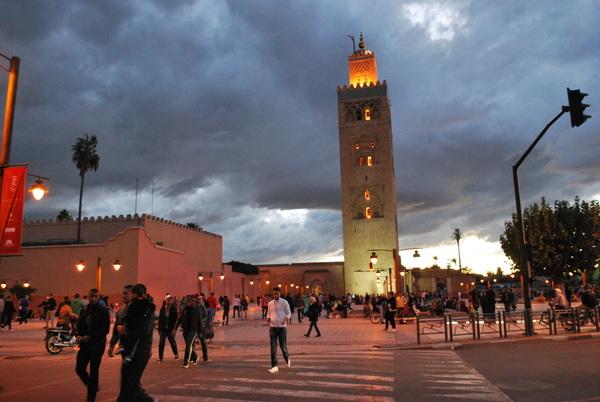 Kotubia, a maior mesquita de Marrakesh