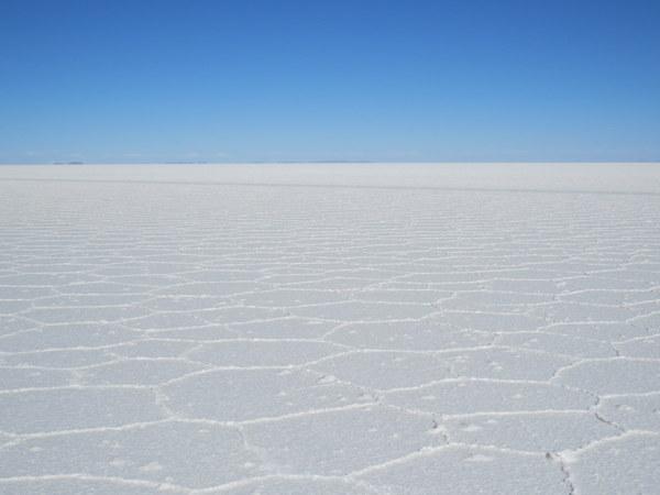 A magnitude do Salar de Uyuni