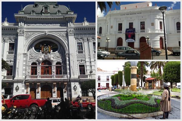 O centro histórico de Sucre - Bolívia