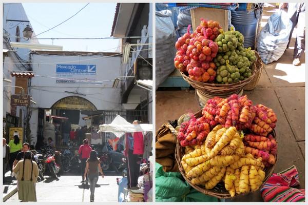 Mercado Central de Sucre - Bolívia