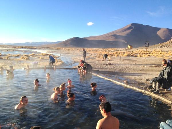 Termas de Águas Quentes | Salar de Uyuni