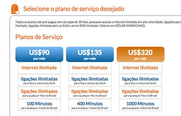 American Net Mobile | Planos