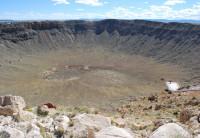 Visitando a cratera de um meteoro no Arizona