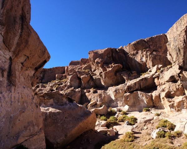 Canion no Deserto do Atacama no Chile