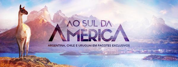 Pacotes promocionais para Argentina, Chile e Uruguai no Zarpo