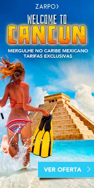 Promoção de Pacotes de Viagem para Cancun
