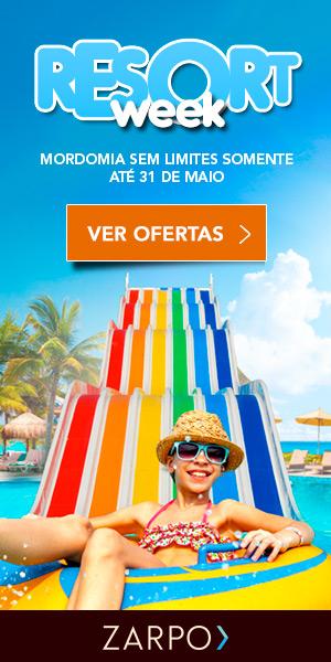 Resort Week - Pacotes promocionais para os melhores resorts do Brasil