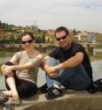 A chegada em terras italianas