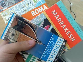Guias de Roma, Marrakesh e Florença