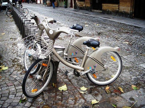 Pedal em Paris - Velibe