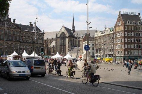 Praça Dam - Amsterdã