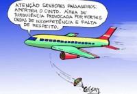 As regras e normas estúpidas da aviação civil