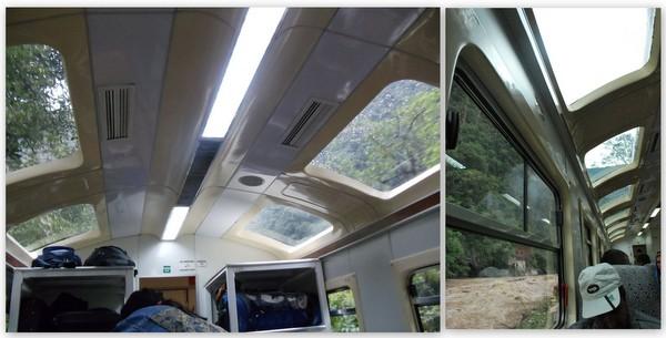 Trem Expedition da Peru Rail | Teto Panorâmico
