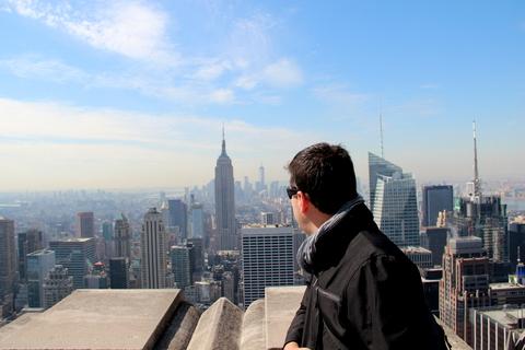 Nova York | Vista do Top of The Rock
