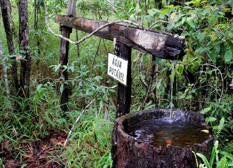 Cachoeira de São Bento   Chapada dos Veadeiros   Fonte de Água