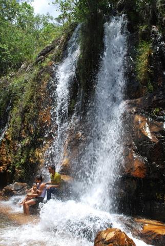 Cachoeira dos Cristais - O véu da noiva | Chapada dos Veadeiros