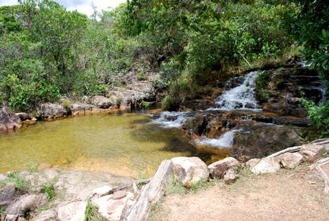 Cachoeira dos Cristais - Poço da Vovó | Chapada dos Veadeiros