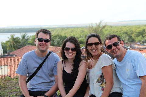 Marcelo, Polliana, Millena, Sanderson e Roberta (a fotógrafa) em João Pessoa