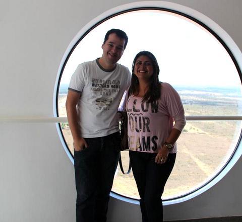 Marcelo Lemos e Érika Marques