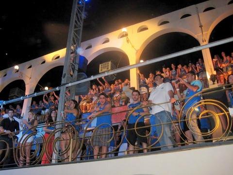 Jorge e Mateus na varanda VIP do Camarote Salvador, o mais bombado da Barra-Ondina