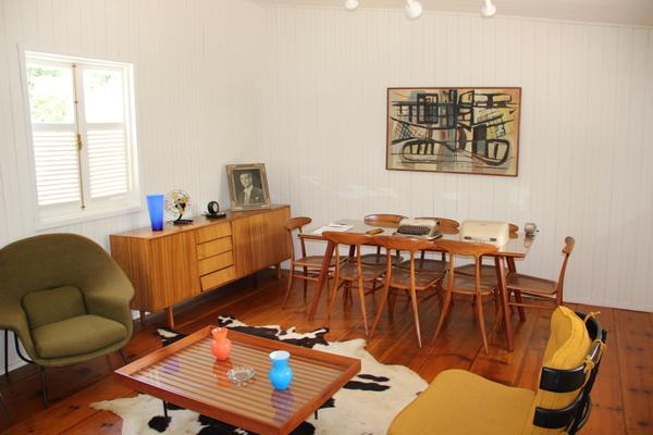 Museu do Catetinho | Vista ampliada da sala dos despachos