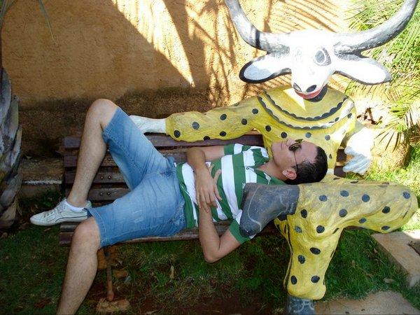 Renan Rigo jacuzando em Pirenópolis