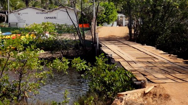 A ponte | Camarão na Fazenda