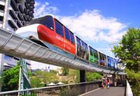 Uma volta no Monorail em Sydney