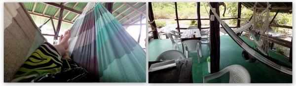 Descanso nas redes do Camarão na Fazenda