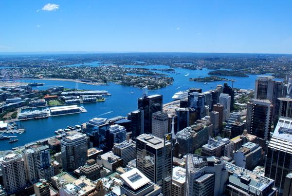 Vista da The Sydney Tower Eye (3)