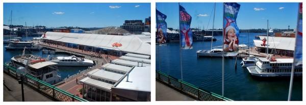Vista do Monorail de Sidney