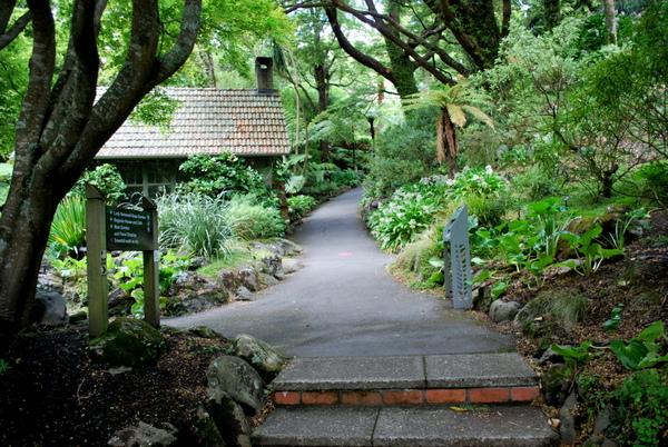 Wellington | Entrada do Jardim Botânico