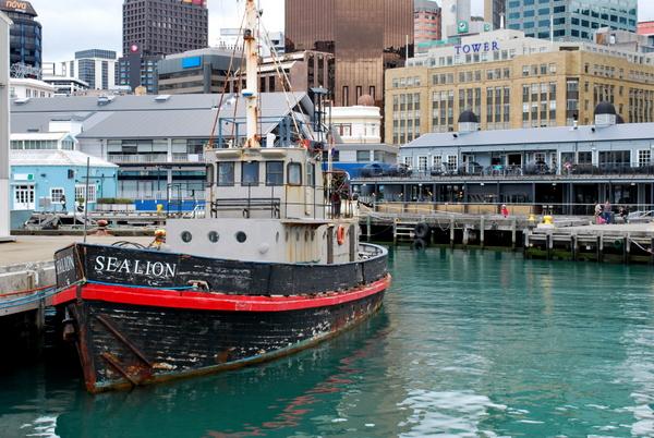 Zona Portuária de Wellington | Nova Zelândia