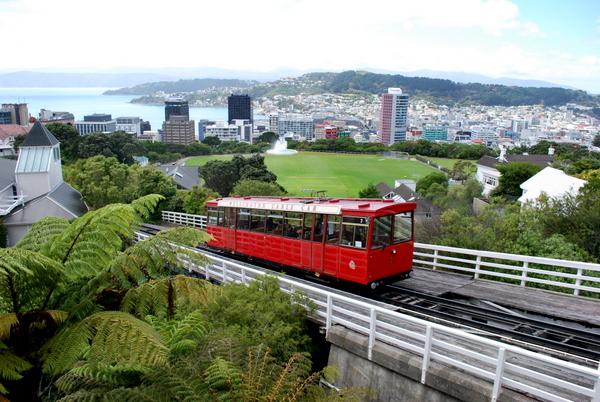 Wellington | Nova Zelândia | O cartão postal