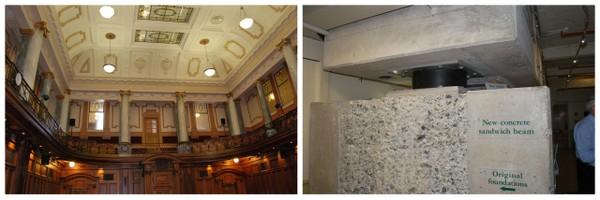 Por dentro do Parlamento Sede do Governo e Parlamento Neozelandês e o Sistema Anti-Terremoto