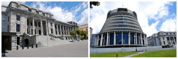Sede do Governo e Parlamento Neozelandês