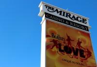 Hospedando no The Mirage em Las Vegas