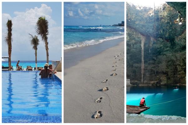 Cancun e Cenote | México
